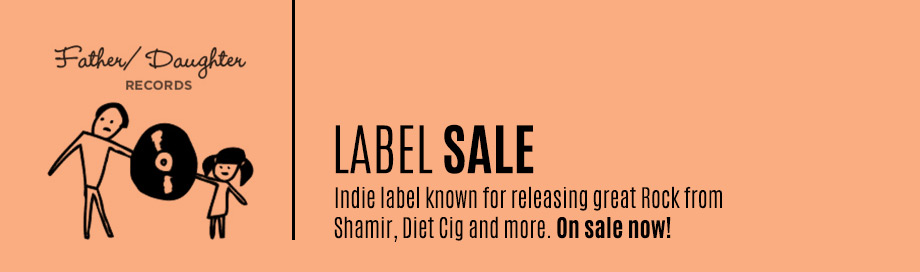 Father Daughter Records Label Sale