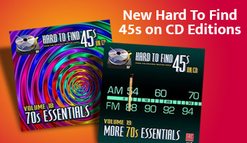 Hard To Find 45s on CD