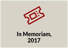 In Memoriam, 2017