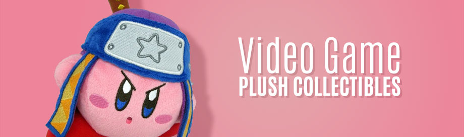 Video Game Plush Collectibles on DeepDiscount