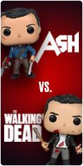 Ash VS The Walking Dead