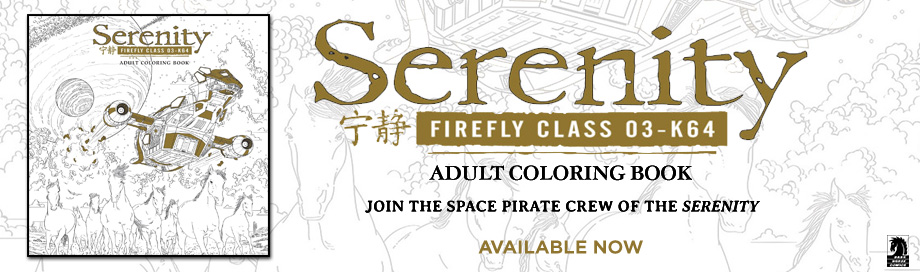 Serenity Adult Coloring Books