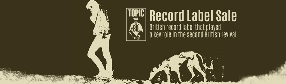 Topic Records on sale