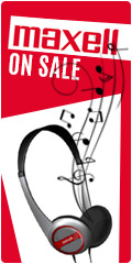 Maxell Sale