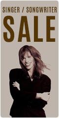 Singer Songwriter sale