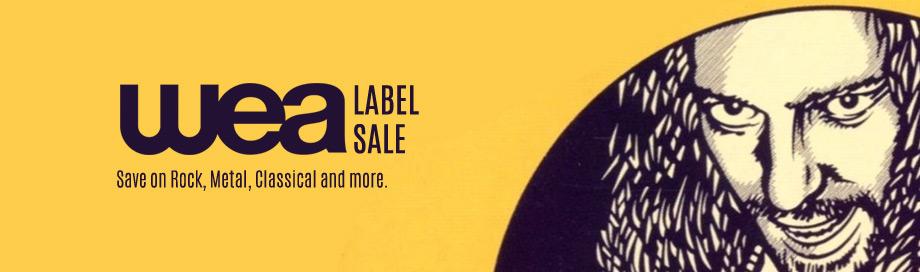 WEA Label sale