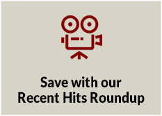 Save on the latest with our Recent Hits Roundup