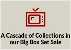 A Cascade of Collections in our Big Box Set Sale