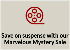 Save on suspense with our Marvelous Mystery Sale