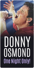 Donny Osmond on Sale