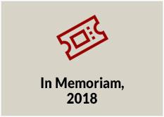 In Memoriam, 2018