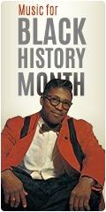Black History Month Music Sale