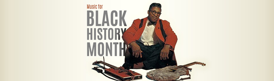 Black History Month Music Sale