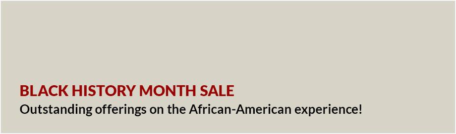 Black History Month Sale