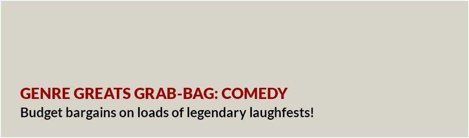 Genre Greats Grab Bag Comedy