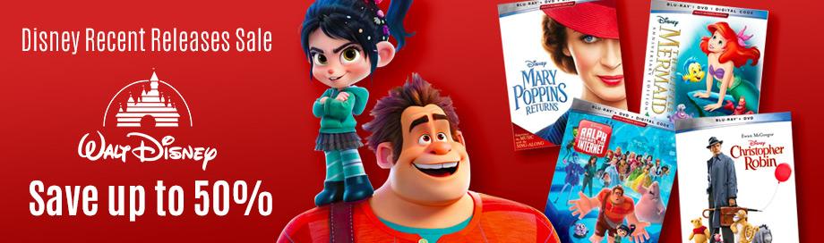 Disney Recent Releases