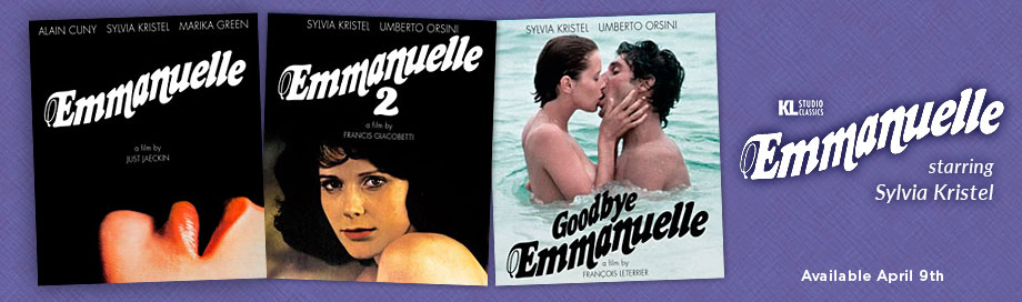 Emmanuelle on Blu ray from Kino