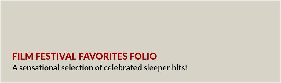 Film Festival Favorites Folio