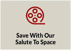 Save with our Salute to Space