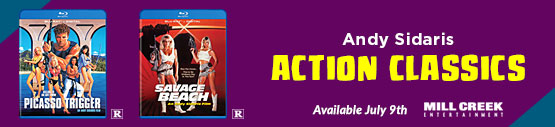 Andy Sidaris Action Classics Available July 9